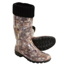 Kamik Kelly Fleece-Lined Rain Boots - Waterproof (For Women) in Brown - Closeouts