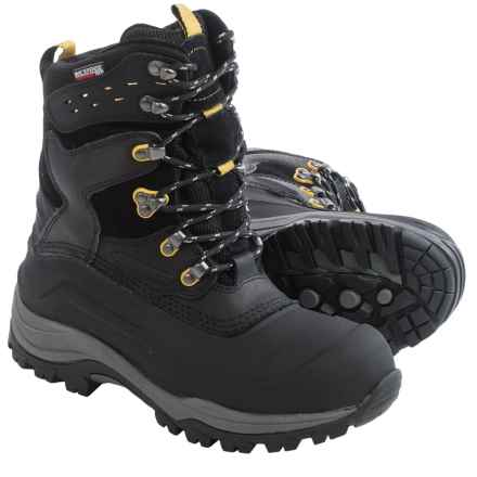 Kamik Keystone Snow Boots - Waterproof, Insulated (For Men) in Black - Closeouts