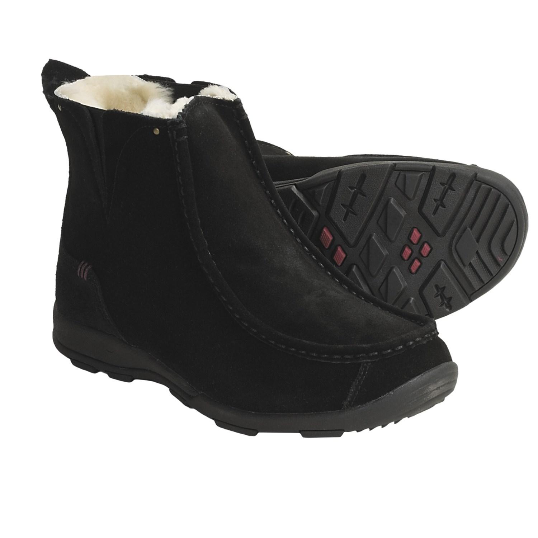 Kamik Kingston Boots - Waterproof, Insulated (For Women) in Black