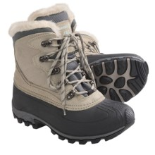 Kamik Lake Louise Winter Boots - Suede, Waterproof, Insulated (For Women) in Light Grey - Closeouts
