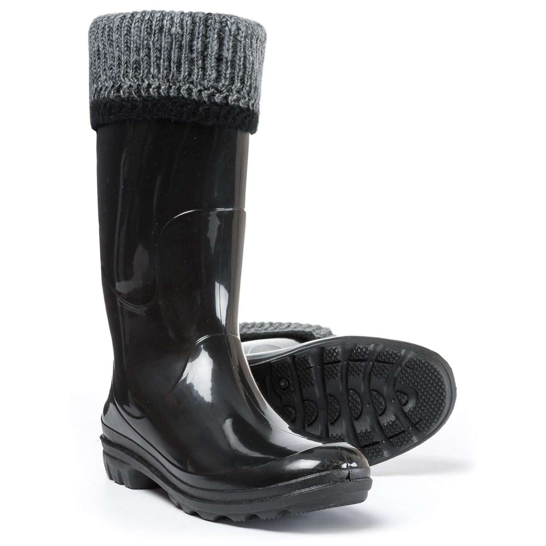 best price low cost structural disablities Kamik Lancaster Fleece-Lined Rain Boots - Waterproof (For Women)