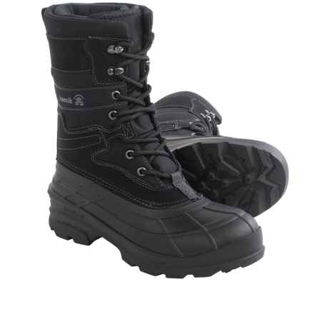 Kamik Lasalle Pac Boots - Waterproof, Insulated (For Men) in Black - Closeouts
