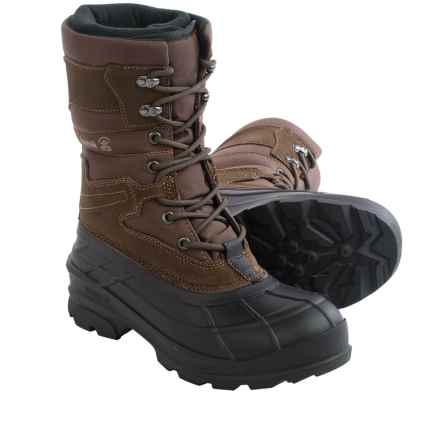 Kamik Lasalle Pac Boots - Waterproof, Insulated (For Men) in Dark Brown - Closeouts
