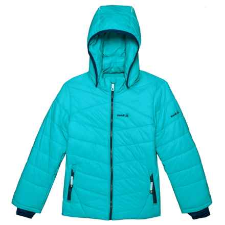 Kamik Leona Ski Jacket - Insulated (For Big Girls) in Capri - Closeouts