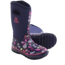 Kamik Lily Rain Boots - Waterproof (For Little Kids) in Navy/Magenta - Closeouts