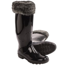 Kamik Lisbeth Rain Boots - Waterproof (For Women) in Black - Closeouts