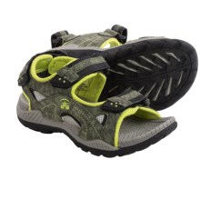 Kamik Lobster Sport Sandals (For Big Kids) in Lime - Closeouts