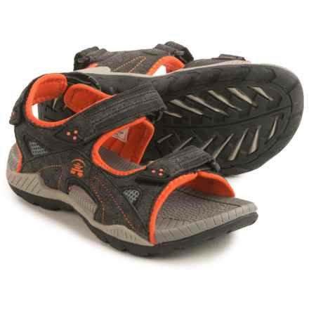 Kamik Lobster Sport Sandals (For Little and Big Boys) in Orange - Closeouts
