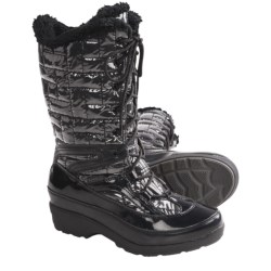 Kamik London Snow Boots - Waterproof, Insulated (For Women) in Black
