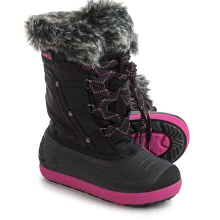 Kamik Lotus Pac Boots - Waterproof, Insulated (For Little and Big Kids) in Black - Closeouts