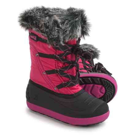 Kamik Lotus Pac Boots - Waterproof, Insulated (For Little and Big Kids) in Rose - Closeouts