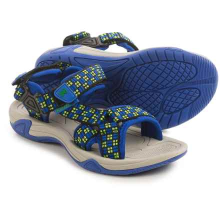 Kamik Lowtide Sport Sandal (For Little and Big Kids) in Dark Blue - Closeouts