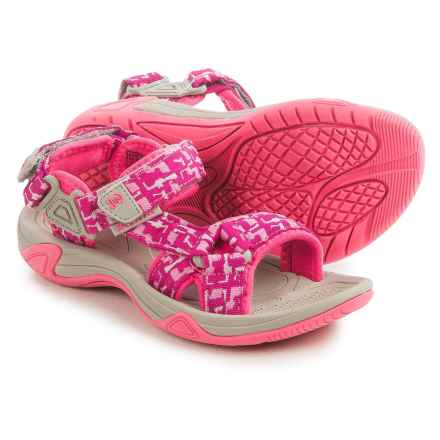 Kamik Lowtide Sport Sandal (For Little and Big Kids) in Pink - Closeouts