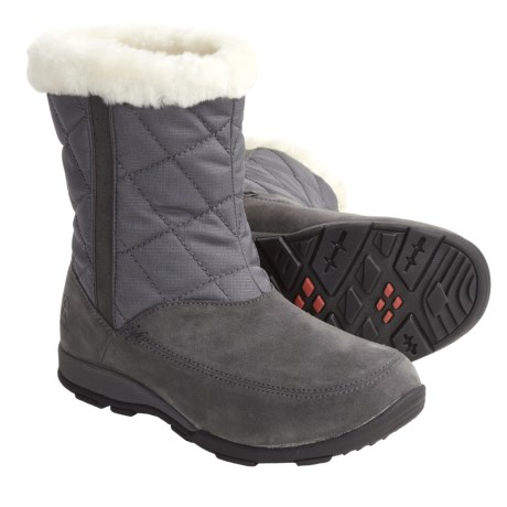 Kamik Moncton Winter Boots - Waterproof, Insulated (For Women) in Charcoal