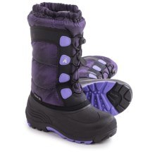 Kamik Moonracer Snow Boots (For Little and Big Kids) in Lavender - Closeouts
