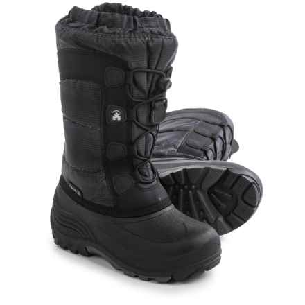 Kamik Moonracer Snow Boots - Insulated (For Toddlers) in Charcoal - Closeouts