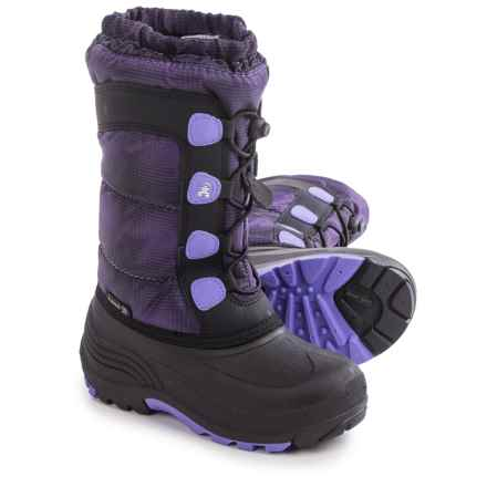 Kamik Moonracer Snow Boots - Insulated (For Toddlers) in Lavender - Closeouts
