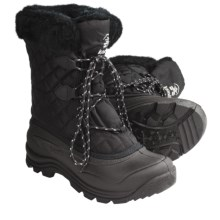 Kamik Mount Snow Boots - Waterproof, Insulated (For Women) in Black - Closeouts