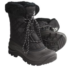 Kamik Mount Snow Boots - Waterproof, Insulated (For Women) in Black