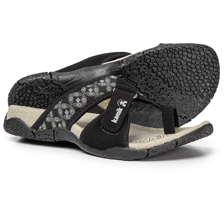 e4b6df1ed Kamik Mustique Sandals (For Women) in Black ...