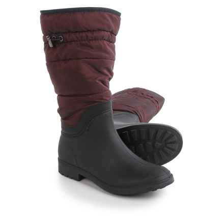 Kamik Newcastle Boots - Waterproof, Insulated (For Women) in Burgandy - Closeouts