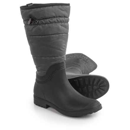 Kamik Newcastle Boots - Waterproof, Insulated (For Women) in Grey - Closeouts