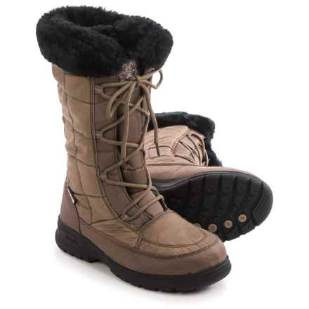 Kamik Newyork2 Winter Snow Boots - Waterproof, Insulated (For Women) in Brown - Closeouts