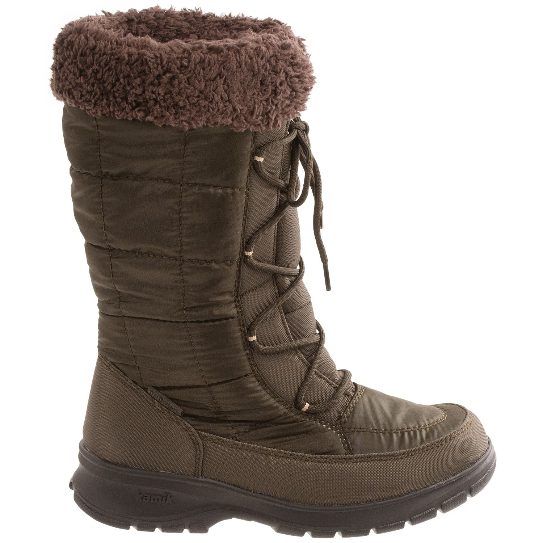Kamik Newyork2 Winter Snow Boots (For Women) - Save 85%