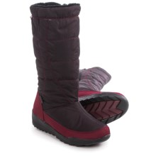 Kamik Nice Snow Boots - Waterproof, Insulated (For Women) in Burgundy - Closeouts