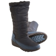 Kamik Nice Snow Boots - Waterproof, Insulated (For Women) in Dark Blue - Closeouts