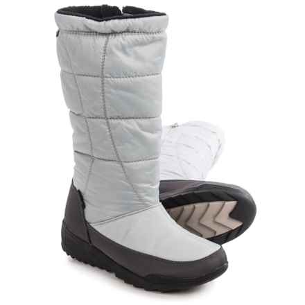 Kamik Nice Snow Boots - Waterproof, Insulated (For Women) in Grey - Closeouts