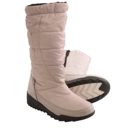 Kamik Nice Snow Boots - Waterproof, Insulated (For Women) in Oyster - Closeouts