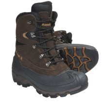 Kamik Nordicpas2 Snow Boots - Waterproof, Insulated (For Men) in Dark Brown - Closeouts