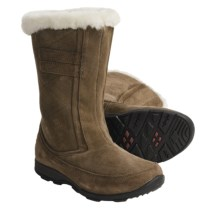 Kamik Northbay Quilted Suede Winter Boots - Waterproof, Insulated (For Women) in Taupe - Closeouts