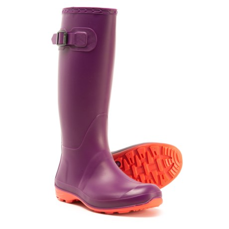 41e077cd2fa6 Kamik Olivia Rain Boots - Waterproof (For Women) in Plum
