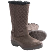 Kamik Paris Snow Boots - Waterproof, Insulated (For Women) in Dark Brown - Closeouts