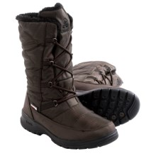 Kamik Phoenix Snow Boots - Waterproof, Insulated (For Women) in Dark Brown - Closeouts