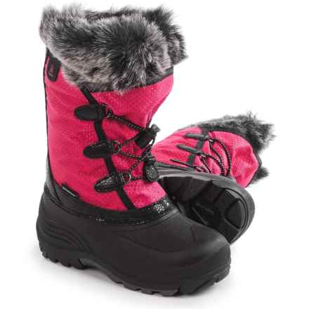 Kamik Powdery Pac Boots - Insulated (For Little and Big Kids) in Rose - Closeouts