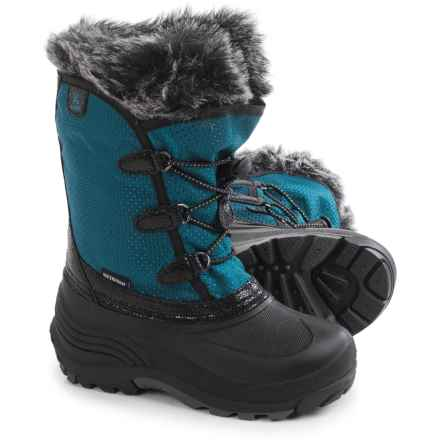 Kamik Powdery Pac Boots - Waterproof (For Toddlers) in Ink - Closeouts