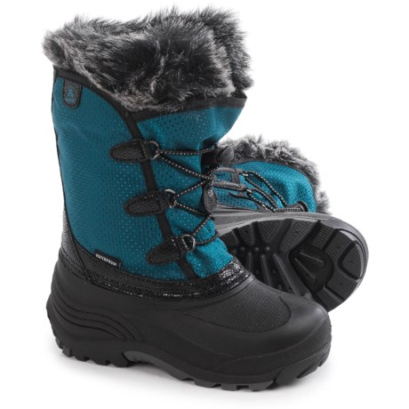 Kamik Powdery Pac Boots - Waterproof (For Toddlers) in Ink