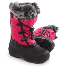 Kamik Powdery Pac Boots - Waterproof (For Toddlers) in Rose - Closeouts