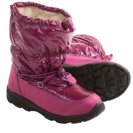 Kamik Prancer Snow Boots - Waterproof (For Kids and Youth) in Berry - Closeouts