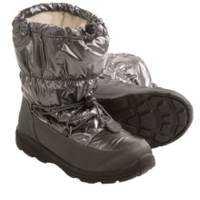 Kamik Prancer Snow Boots - Waterproof (For Kids and Youth) in Charcoal - Closeouts