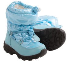 Kamik Prancer Snow Boots - Waterproof (For Toddlers) in Blue - Closeouts