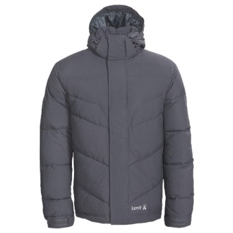 Kamik Puff Down Jacket - 595 Fill Power (For Men) in Charcoal