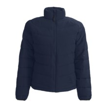 Kamik Puff Down Jacket - 595 Fill Power (For Women) in Navy - Closeouts