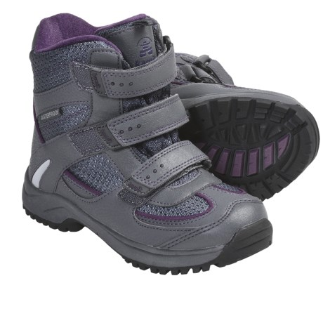 Kamik Radar Winter Boots - Waterproof, Insulated (For Boys and Girls) in Grey