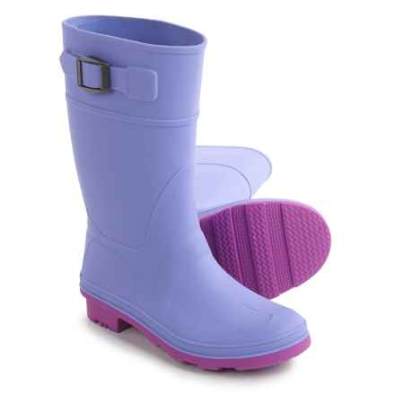 Kamik Raindrops Rain Boots - Waterproof (For Little and Big Kids) in Periwinkle - Closeouts