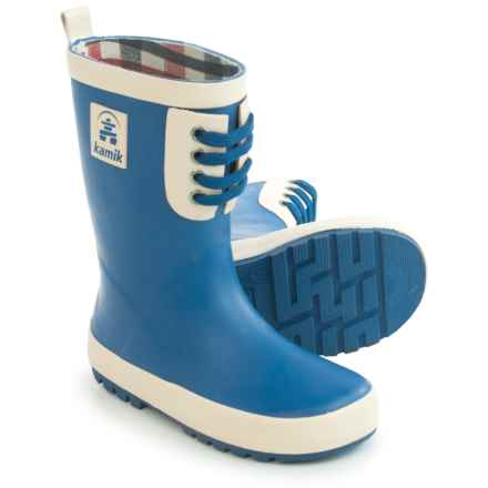 Kamik Raingame Rain Boots - Waterproof (For Little and Big Kids) in Blue - Closeouts