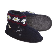 Kamik Reindeer Booties - Boiled Wool (For Kids And Youth) in Navy - Closeouts